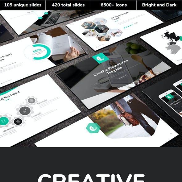 Creative Multipurpose Google Slides Template