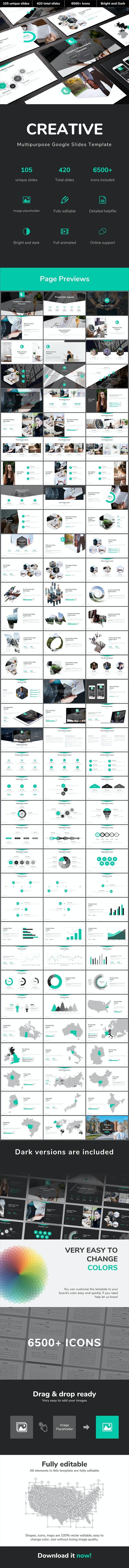 Creative Multipurpose Google Slides Template - Google Slides Presentation Templates