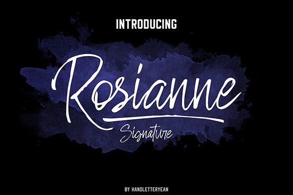 Rosianne - Hand-writing Script