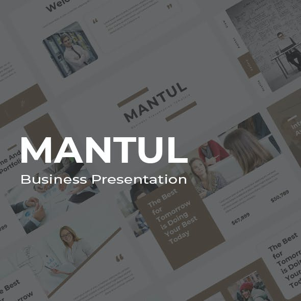 Mantul Business Google Slides