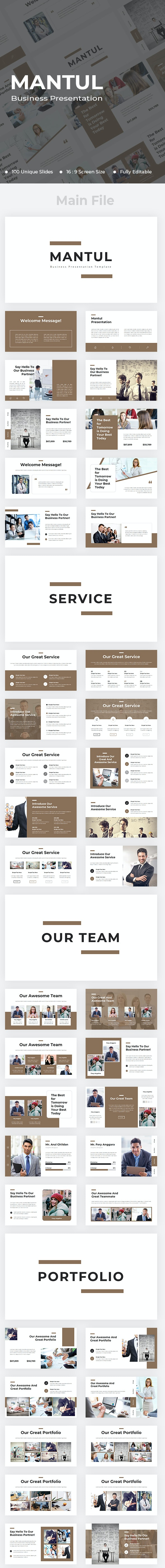 Mantul Business PowerPoint - Business PowerPoint Templates