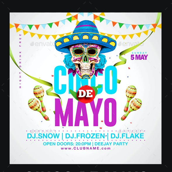 Cinco De Mayo Flyer