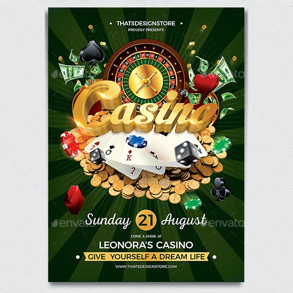 Casino Flyer Template V1