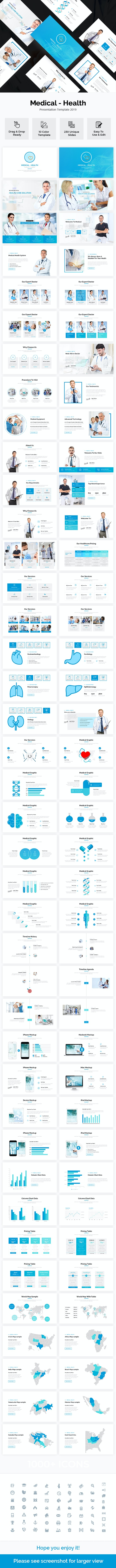 Medical-Health Google Slides Template 2019 - Google Slides Presentation Templates