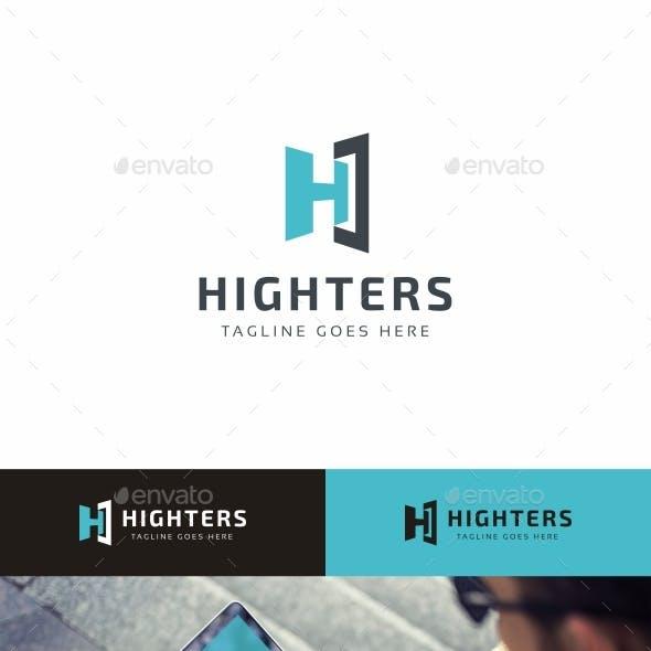 Highters-H Letter Logo