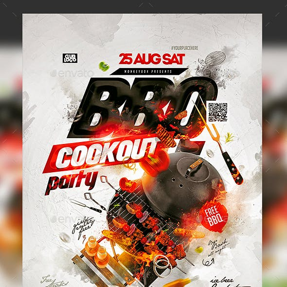 Flyer BBQ Party