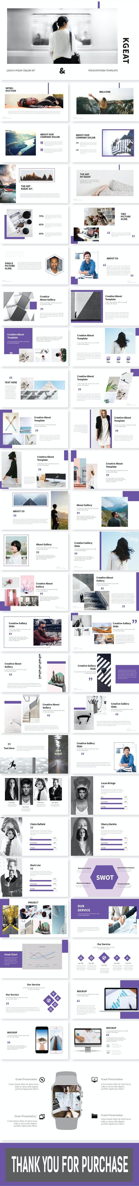 Kgeat Presentation Template - Creative PowerPoint Templates
