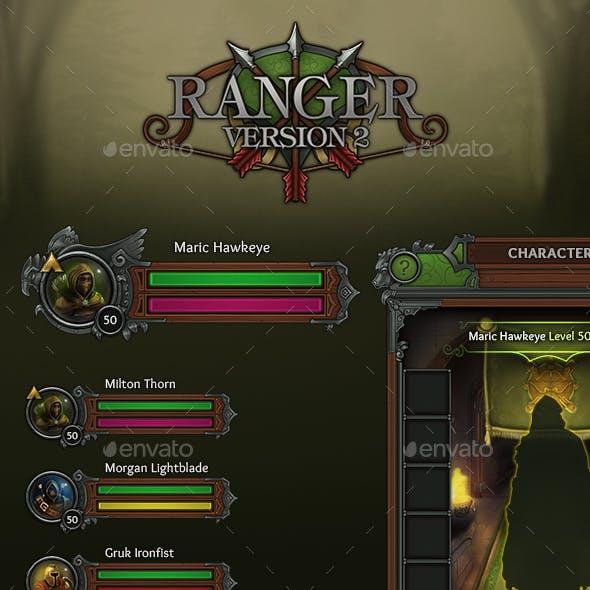 Ranger - RPG User Interface