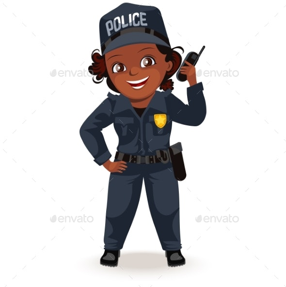 Police Woman - People Characters