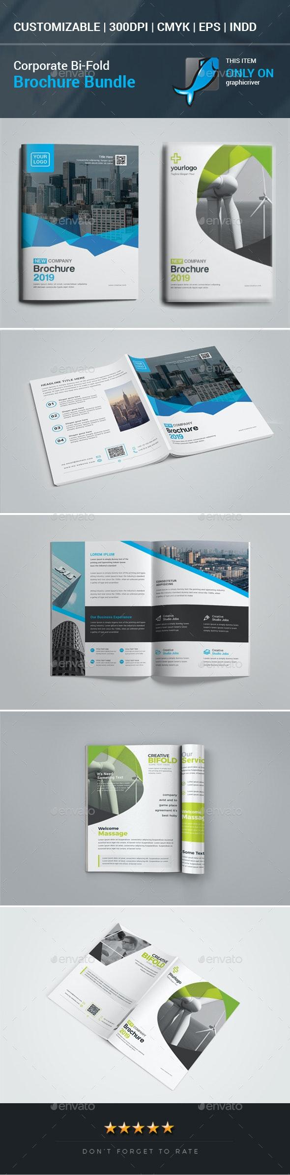 Bi-Fold Brochure Bundle - Corporate Brochures