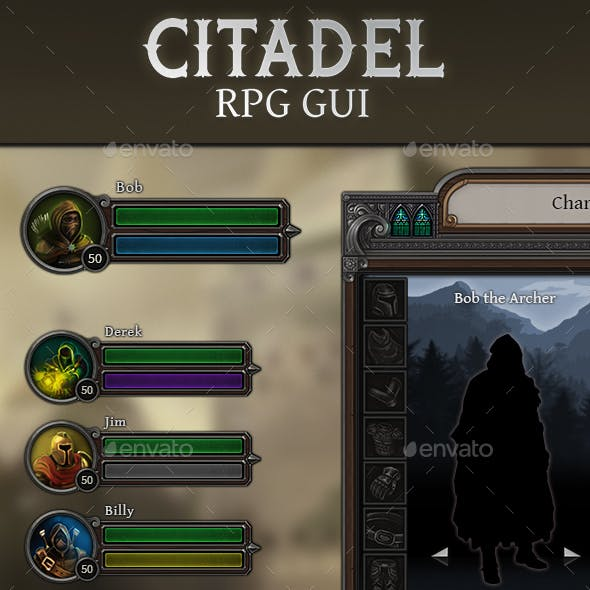 Citadel - RPG User Interface
