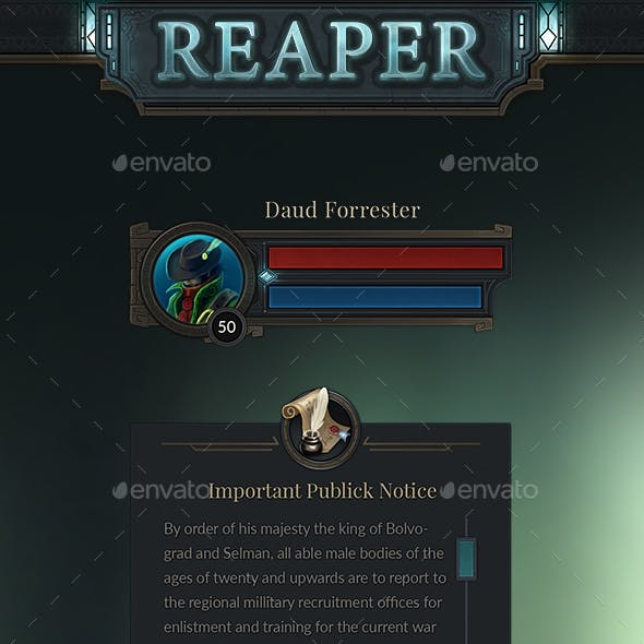 Reaper Mobile Interface