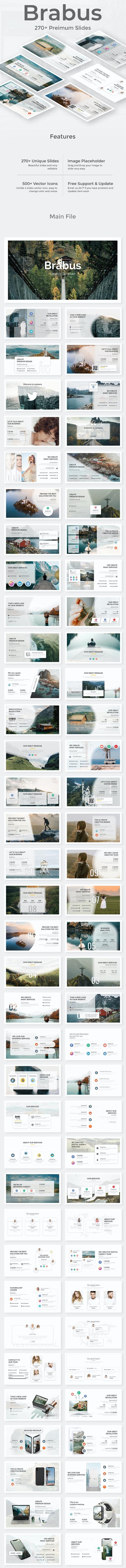 Brabus Premium Keynote Template - Creative Keynote Templates