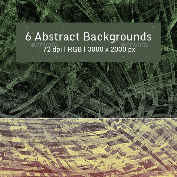 6 Abstract Backgrounds