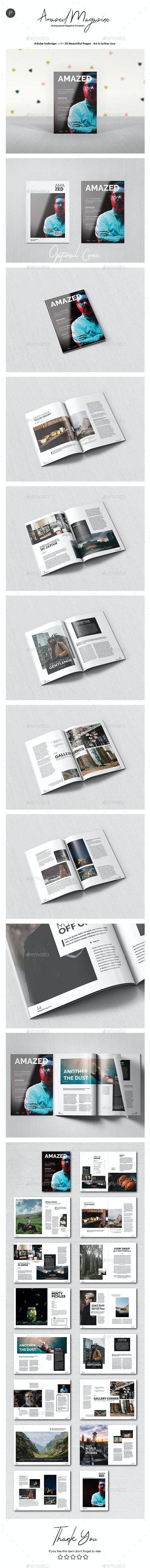 Multipurpose Magazine Vol.7 - Magazines Print Templates