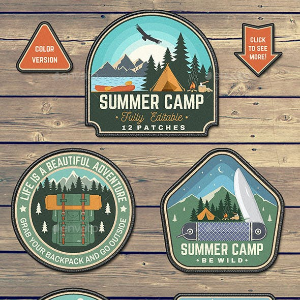 Summer Camp Patches Part 2
