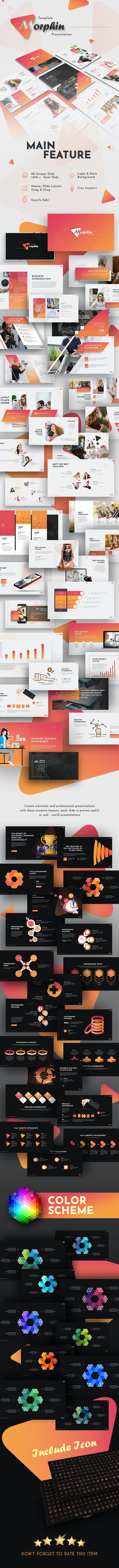 Morph In Multipurpose Presentation Template - Business PowerPoint Templates