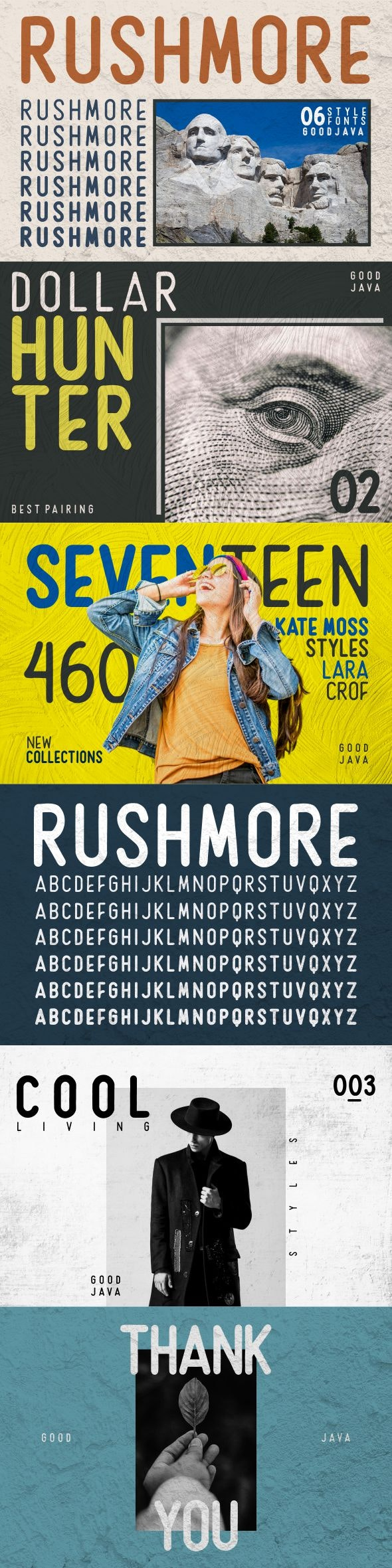 Rushmore - Sans-Serif Fonts