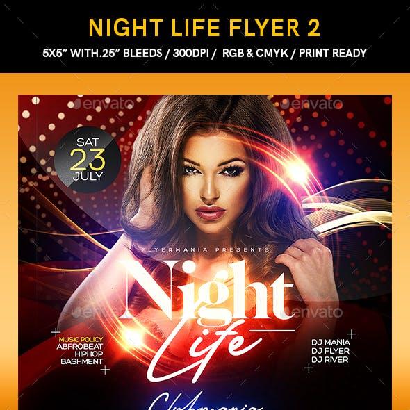 Night Life Flyer 2