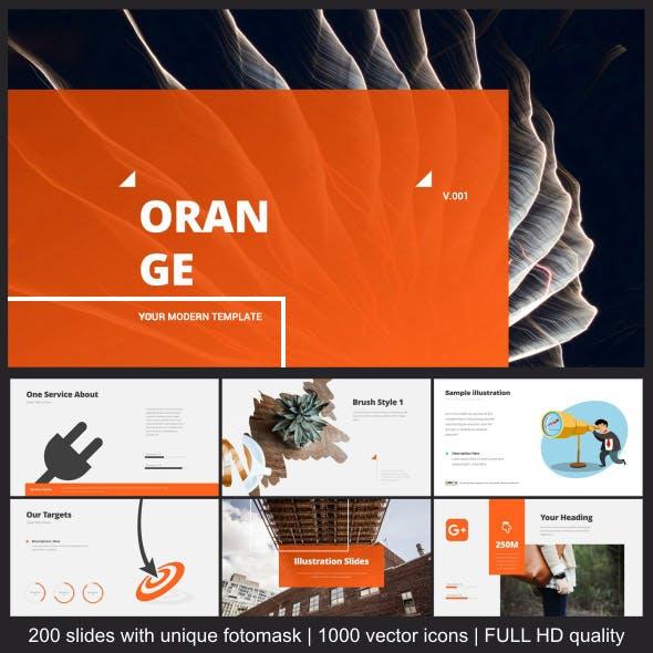 Orange Modern