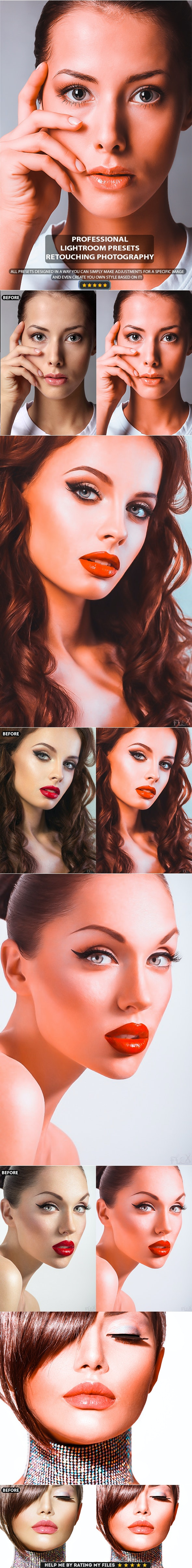 Professional Orange Retouch Lightroom Presets - Lightroom Presets Add-ons