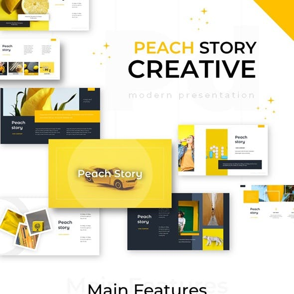 Peach Story Creative Powerpoint