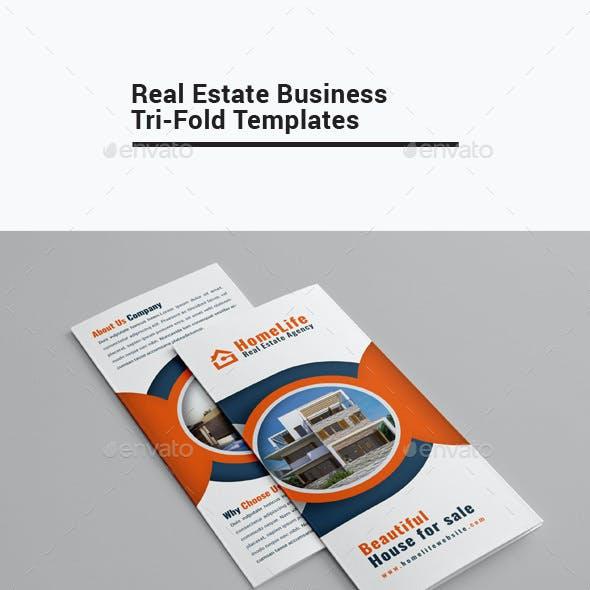 Real Estate Business Tri-Fold