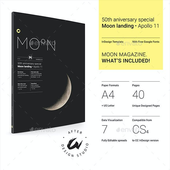 Moon | InDesign Template
