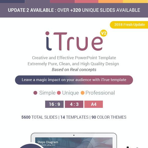 iTrue Premium PowerPoint Presentation Template