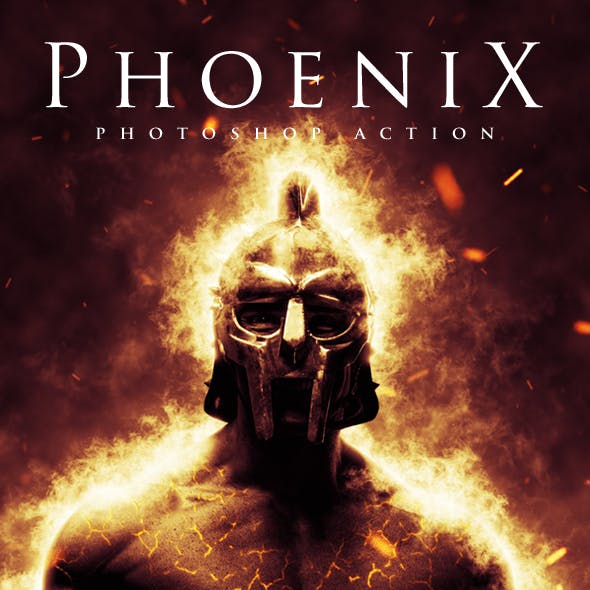 Phoenix - Photoshop Action
