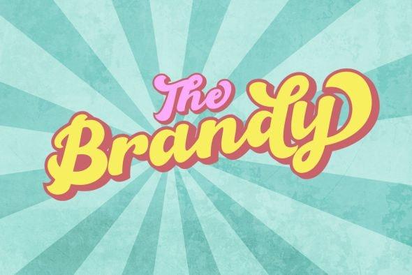 The Brandy Bold Retro Script - Miscellaneous Script