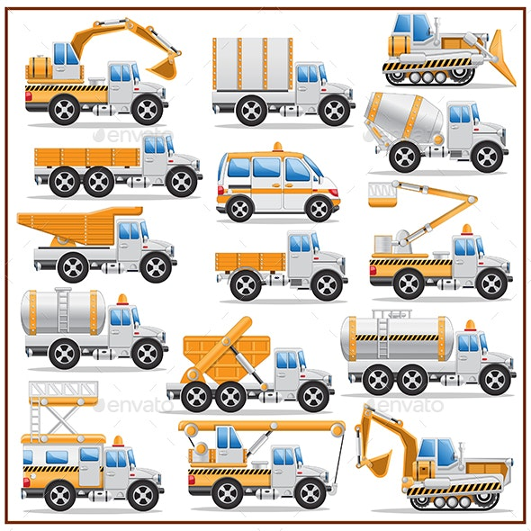 Construction Machinery - Man-made Objects Objects