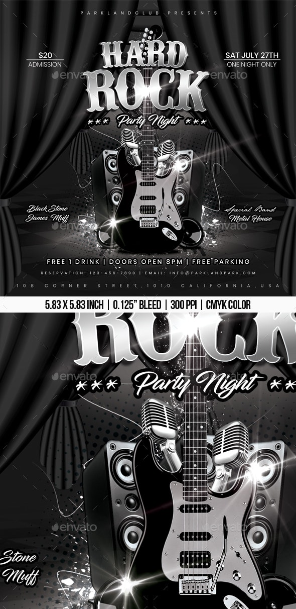 Hard Rock Party Night - Concerts Events
