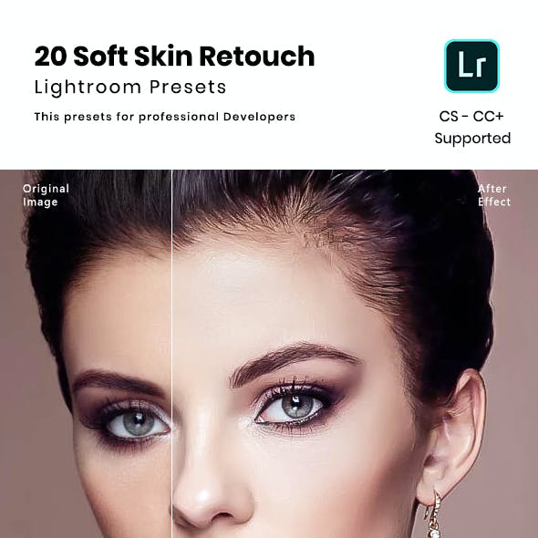 20 Soft Skin Retouch Lightroom Preset