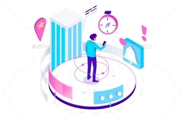 Isometric Navigation - Computers Technology