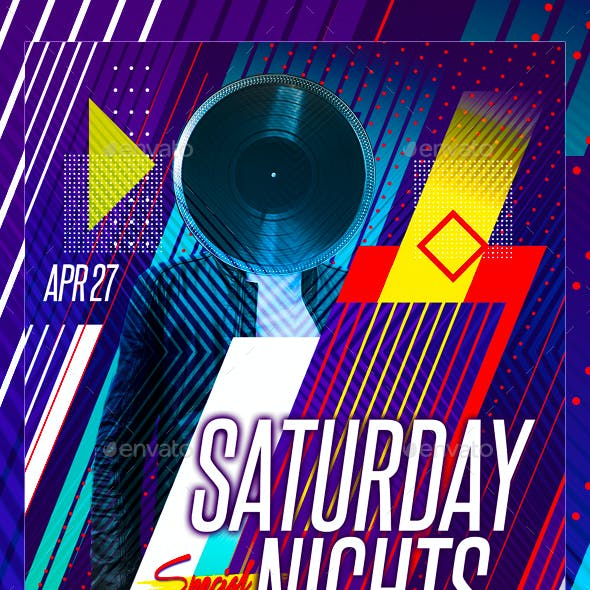 Abstract Geometrical Flyer
