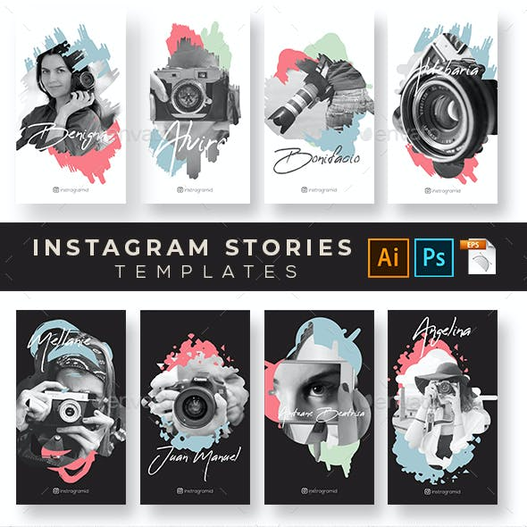 Social Media Instagram Stories v.07