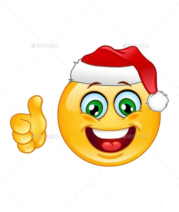 Christmas Emoticon - Christmas Seasons/Holidays