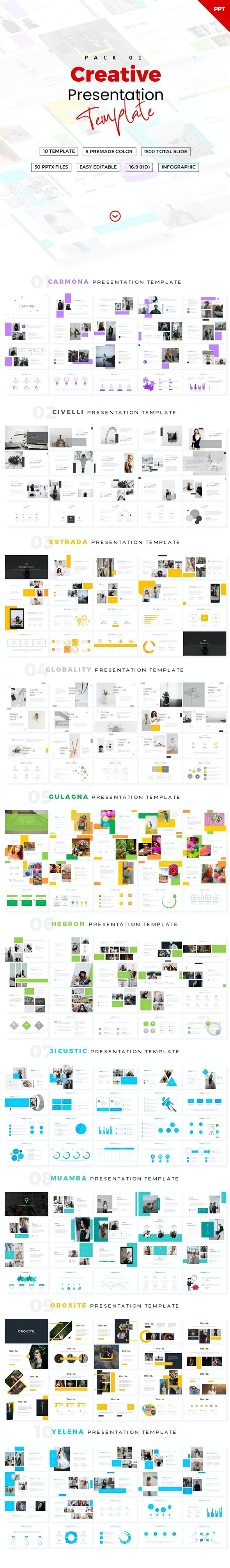 Creative Powerpoint Template Pack - Creative PowerPoint Templates