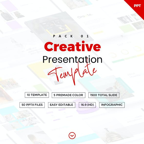 Creative Powerpoint Template Pack