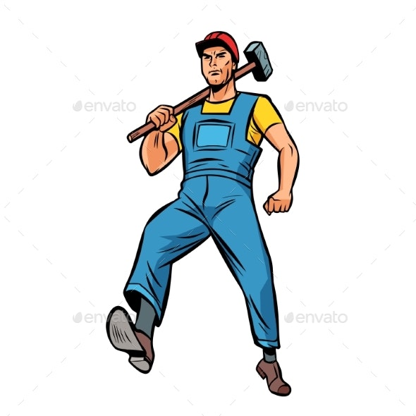 Working with Hammer Employee Specialist Worker - Industries Business