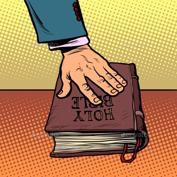 Swearing on the Bible Court and Religion