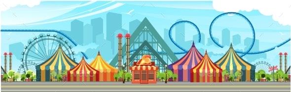 Amusement Park Circus - Industries Business