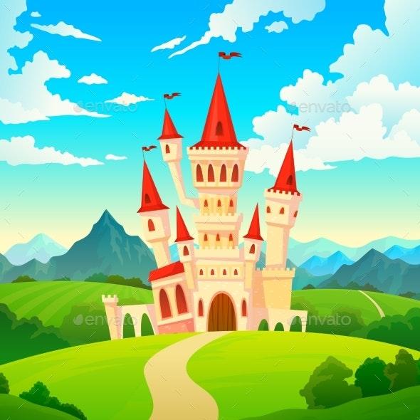 Castle Landscape - Landscapes Nature