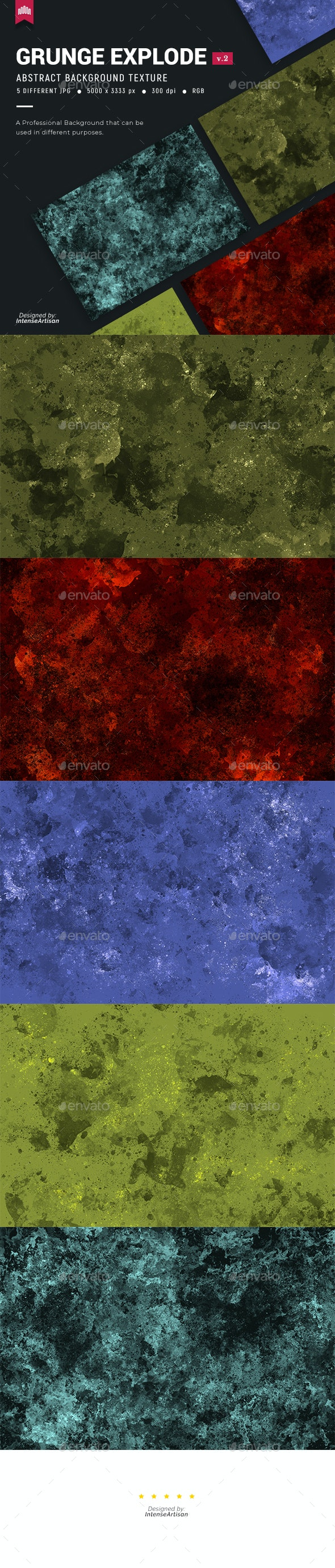 Grunge Explosion V.2 - Background - Abstract Backgrounds