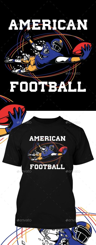 American Football T-Shirt Design - Sports & Teams T-Shirts