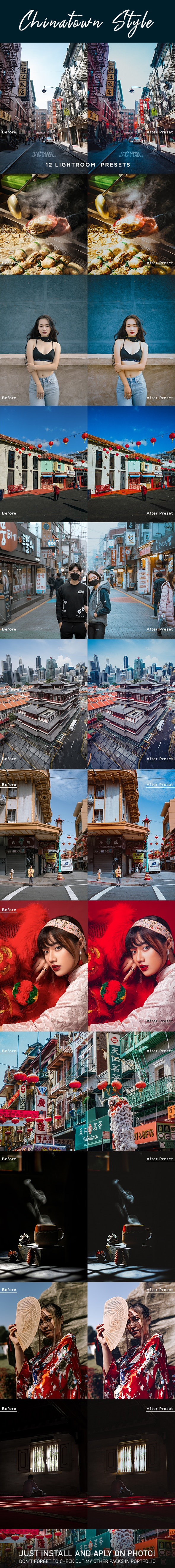 Chinatown Style Lightroom Presets - Lightroom Presets Add-ons
