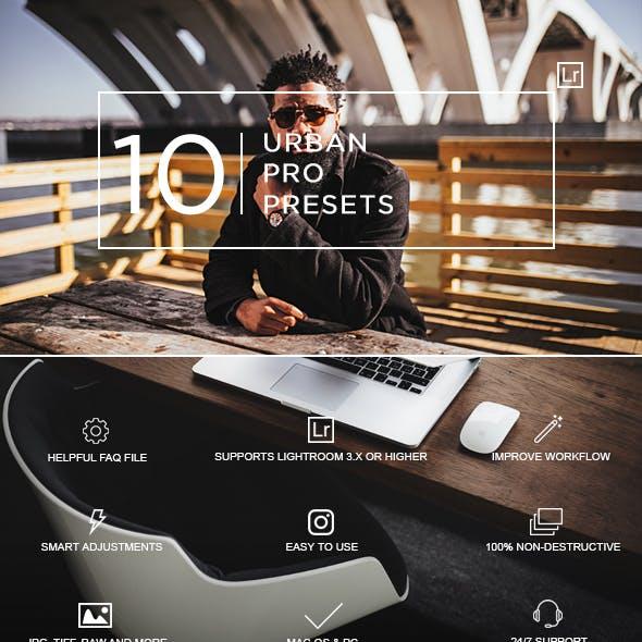 10 Urban Pro Presets