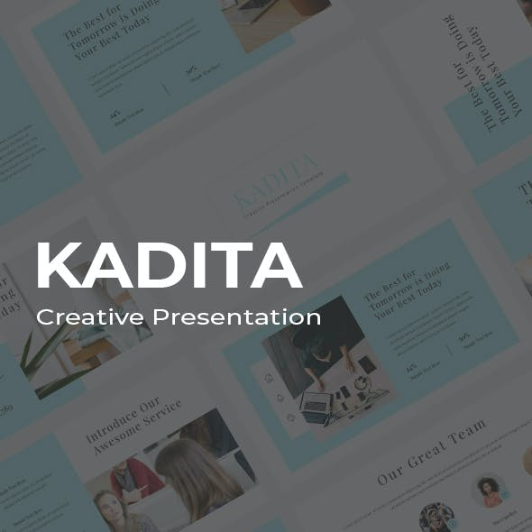Kadita Creative Google Slides