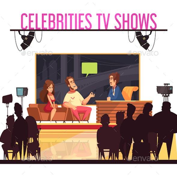 Celebrities TV  Show  Composition